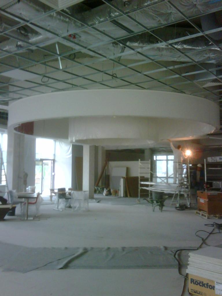 Faux plafonds brard entreprise for Faux plafond staff